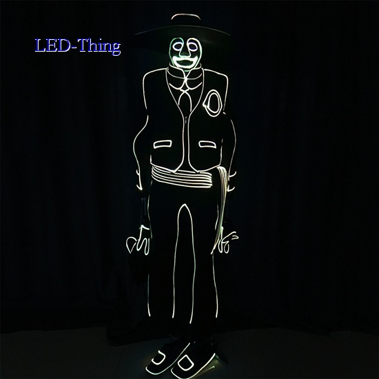 LED Light Fiber Optic DIY Costumes Adult Outfits