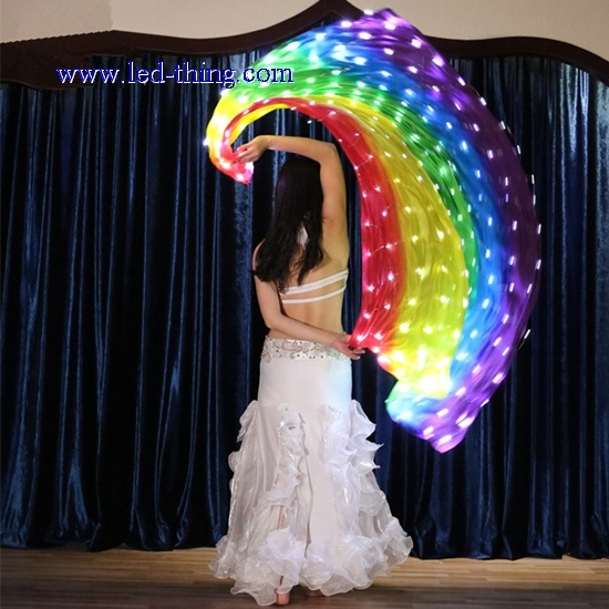 LED Belly Dance Yarn Props