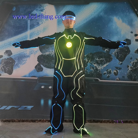 Fiber Optic Tron Group Clothes