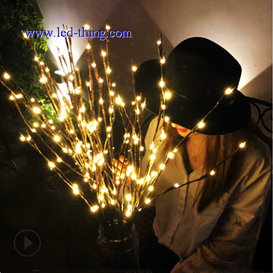 LED Imitation Tree Twig Decoration for Home
