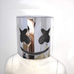 Mirror 3D Silver/Golden/Purple/Rainbow Color Mirror Marshmallow headgear for performance Helmet