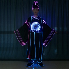 Illuminated Light Up Drama Costume Suit