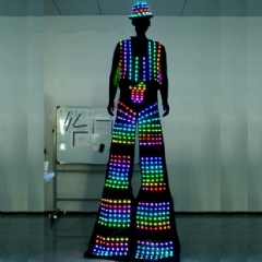 LED Stilt Street Performance Clothing
