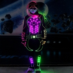 Glowing Nightclub Suit