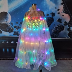 LED Light Dress + Wings Combo