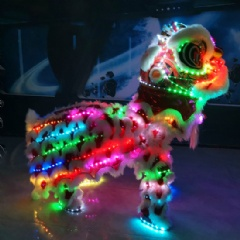 LED Luminous Performance Lion for Holiday