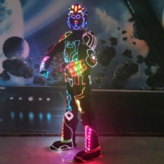 Programmable LED Fiber Optic Costume