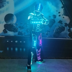 Female Tron Dancce Costume