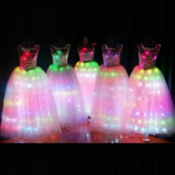 LED Long Dress