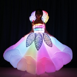 LED Light Up Inflatable Dance Dress