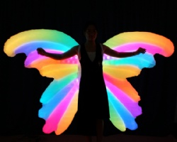 LED Inflatable Butterfly Wings
